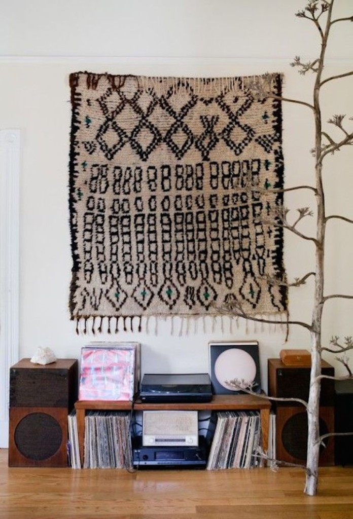 rugs on walls