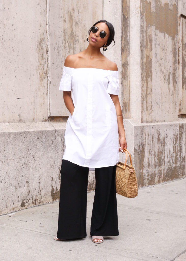 a summer layered look